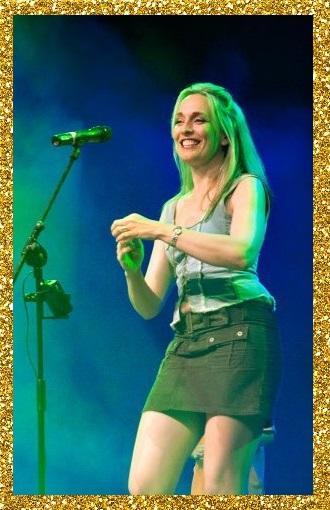 Kathryn performing in Ireland
